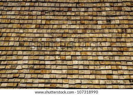 roof pattern - stock photo