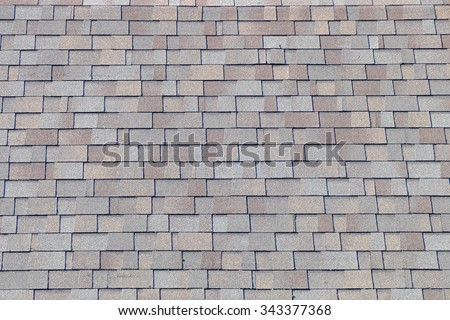Roof shingles - stock photo