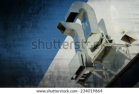 roof ventilated - stock photo