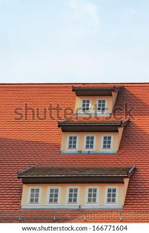 Roof Window - stock photo