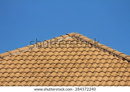 roof with bluesky