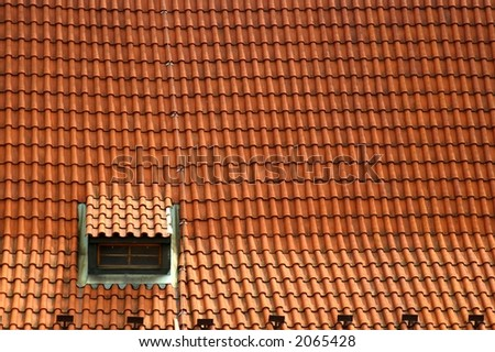Roofs of prague houses
