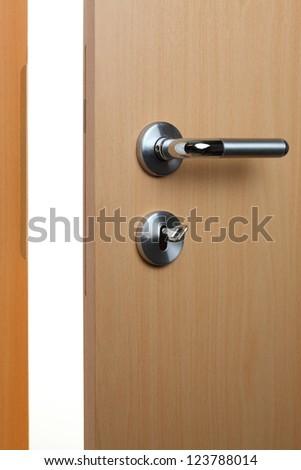room door - stock photo