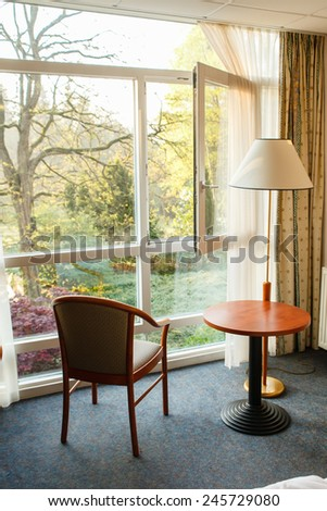 room in the hotel - stock photo