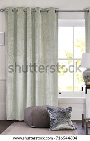 Window Drapes Stock Images RoyaltyFree Images Vectors