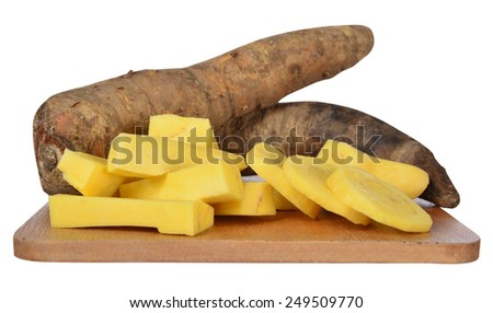Root vegetable. - stock photo
