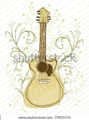 Roots Music - stock photo
