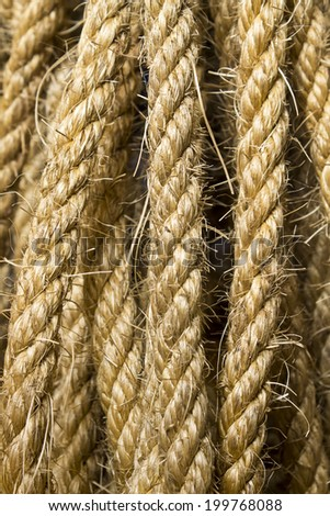 Rope background , texture.