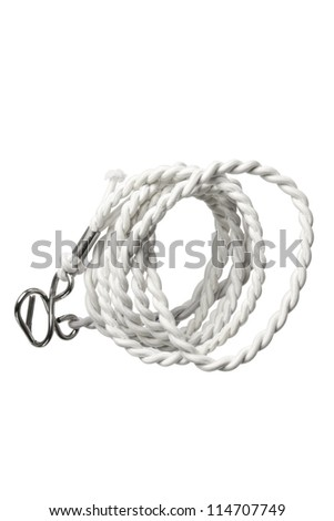 Rope on White Background