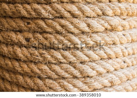 Rope Texture,background. - stock photo