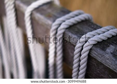 Ropes - stock photo