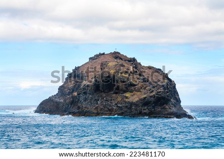 Roque de Garachico. Garachico, Tenerife, Canary Islands, Spain, Europe  - stock photo