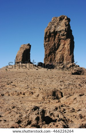 Roque Nublo, Gran Canaria, Spain