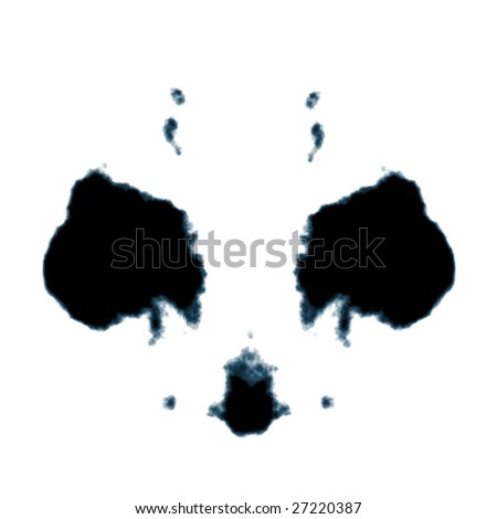 Rorschach graphic