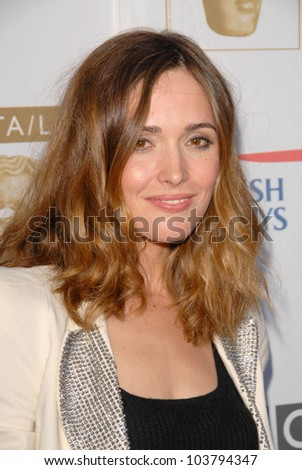 Rose Byrne at the 7th Annual BAFTA-LA TV Tea Party. Intercontinental Hotel, Century City, CA. 09-19-09