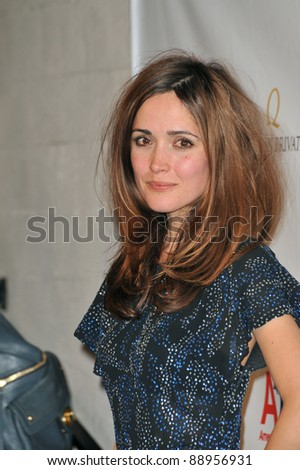 Rose Byrne at the US-Ireland Alliance Oscar Wilde Gala honoring the Irish in Film, at the Ebell Club, Los Angeles. February 19, 2009  Los Angeles, CA Picture: Paul Smith / Featureflash - stock photo