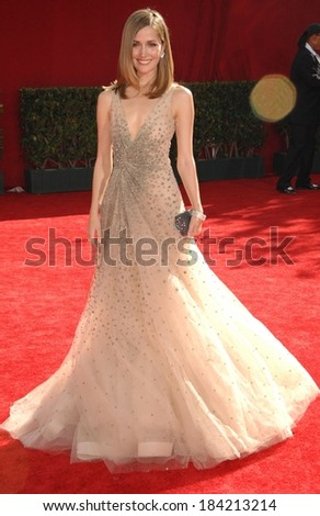 Rose Byrne, wearing a Valentino gown, at 61st Primetime Emmy Awards - ARRIVALS, Nokia Theatre, Los Angeles, CA September 20, 2009 Photo By Dee Cercone/Everett Collection