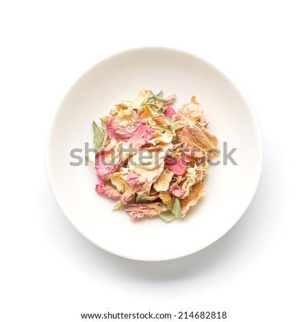 Rose pink petal - stock photo