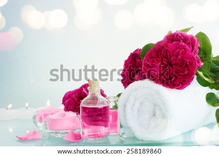 Rose Spa - stock photo