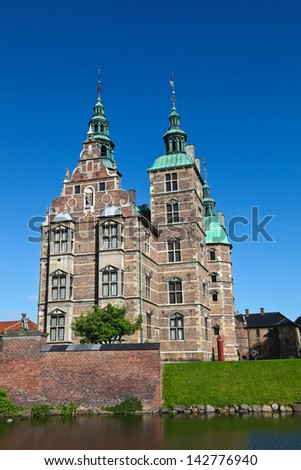 Rosenborg Castle, Copenhagen, Denmark - stock photo