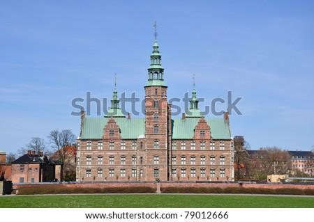 Rosenborg Castle - Copenhagen, Denmark - stock photo