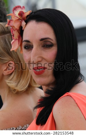 Rossy de Palma attends the Jury photocall during the 68th annual Cannes Film Festival on May 13, 2015 in Cannes, France. - stock photo