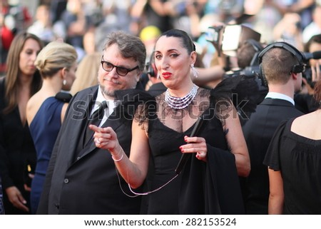 Rossy de Palma attends the opening ceremony and 'La Tete Haute' premiere during the 68th annual Cannes Film Festival on May 13, 2015 in Cannes, France. - stock photo