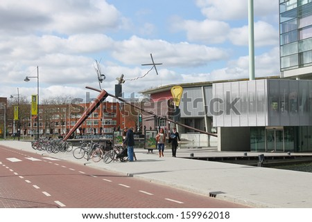 ROTTERDAM, NETHERLANDS - APRIL 1:On the streets on 01 APRIL 2012 in Rotterdam, Netherlands.