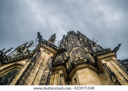 Rotunda of St. Vitus - stock photo