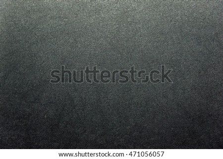 Rough black texture closeup for background