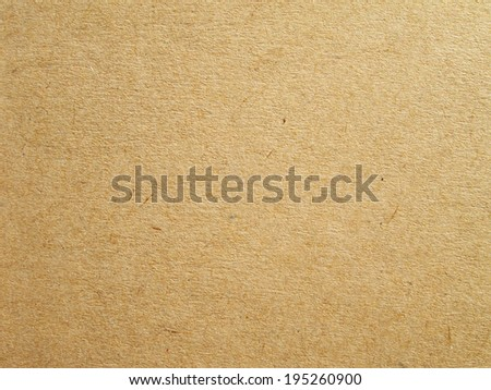 Rough brown paper texture - stock photo