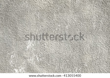 rough cement plaster wall background - stock photo