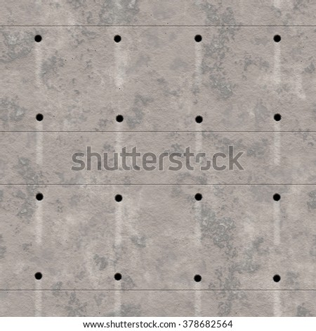 Rough concrete cement wall texture background (Tiles seamless, High resolution CG rendering)