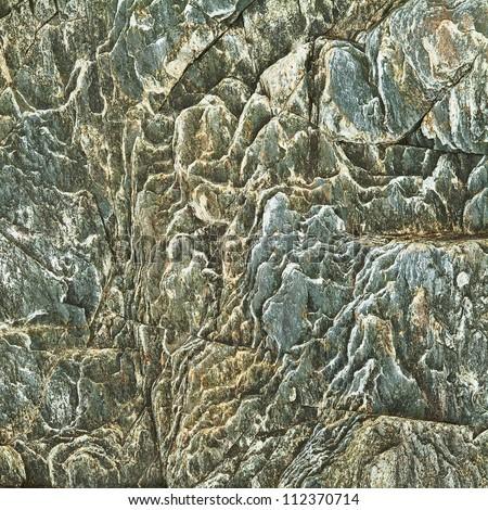 Rough Granite Stone Rock Background Texture - stock photo