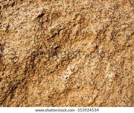 Rough Granite surface