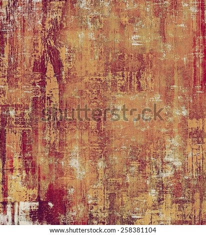 Rough grunge texture. With different color patterns: yellow (beige); brown; red (orange); pink - stock photo