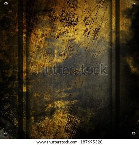 rough metal background - stock photo