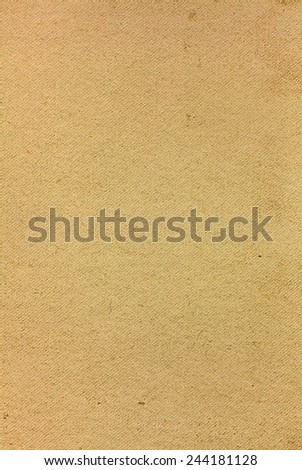 Rough old paper cardboard texture - stock photo