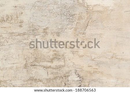 Rough plaster surfaces
