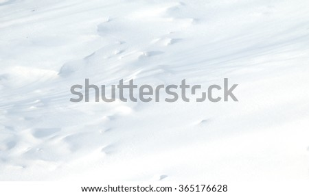 rough snow texture - stock photo