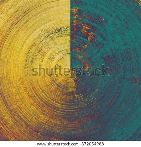 Rough spherical grunge texture. With different color patterns: yellow (beige); brown; blue; purple (violet) - stock photo