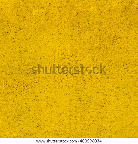 Rough yellow painted flat wall seamless texture