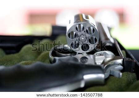 roulette with the bullet out - stock photo