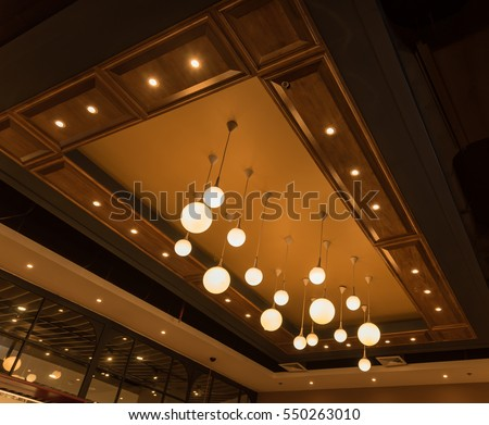 Round ceiling lamp modern hanging lighting stock photo 550263010 round ceiling lamp modern hanging lighting fixtures mozeypictures Gallery