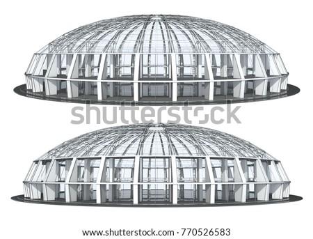 stadium ceiling shutterstock. Black Bedroom Furniture Sets. Home Design Ideas