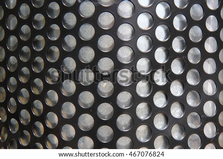 round steel texture as nice industrial background