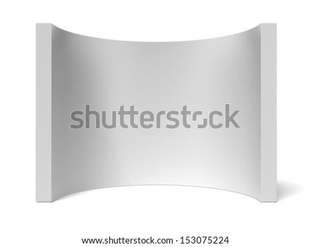 round wall - stock photo