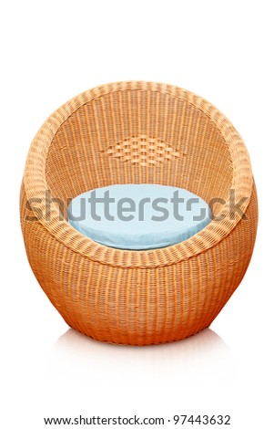 round wicker chair name 3