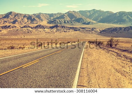 Route 66, Death Valley