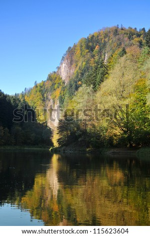 Route of the Three Crowns Sokolica in Pieniny. Poland